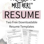 """Resume Template Professional Engineer Of the Resume Sections You Need to Take Your Resume From """"meh"""" to """"we Need to Meet Her """" with Love Becca"""