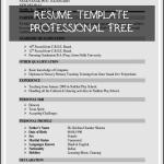 Resume Template Professional Free Of 30 Curriculum Templates for Teachers Cover Letter Templates