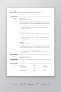 Resume Template Professional Simple Of Professional Resume Template