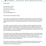 Security Guard Cover Letter for Resume Of Security Guard Cover Letter