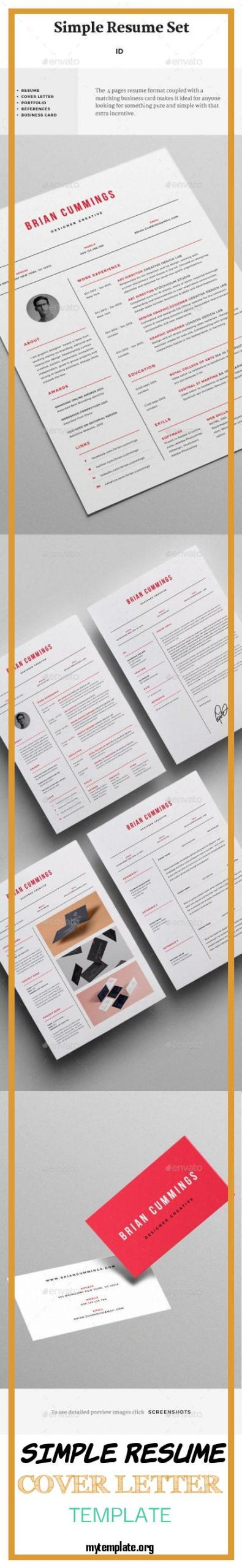 Simple Resume Cover Letter Templates from i1.wp.com