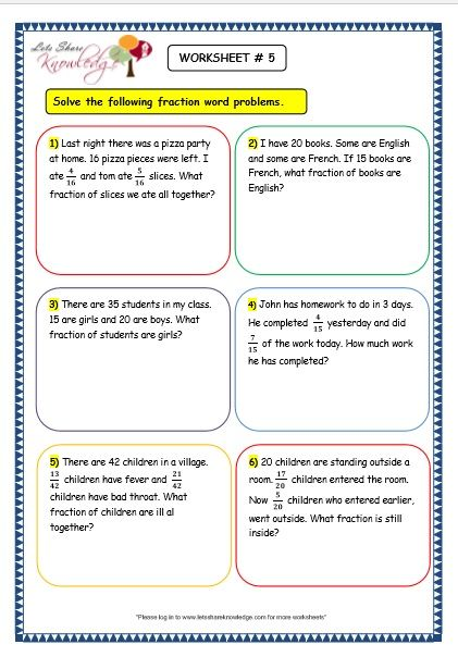 9 Subtraction Word Problems For Grade 3 - Free Templates