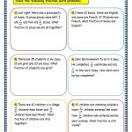 Subtraction Word Problems for Grade 3 Of Grade 3 Maths Worksheets 7 9 Fraction Word Problems