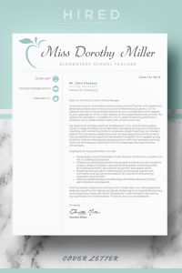 Teacher Resume Skills Section Of Cover Letter format for Elementary Teacher Cv Resume Template Layout References Page