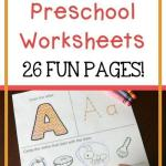 Teaching Alphabet to toddlers Worksheets Of Free Alphabet Preschool Printable Worksheets to Learn the Alphabet