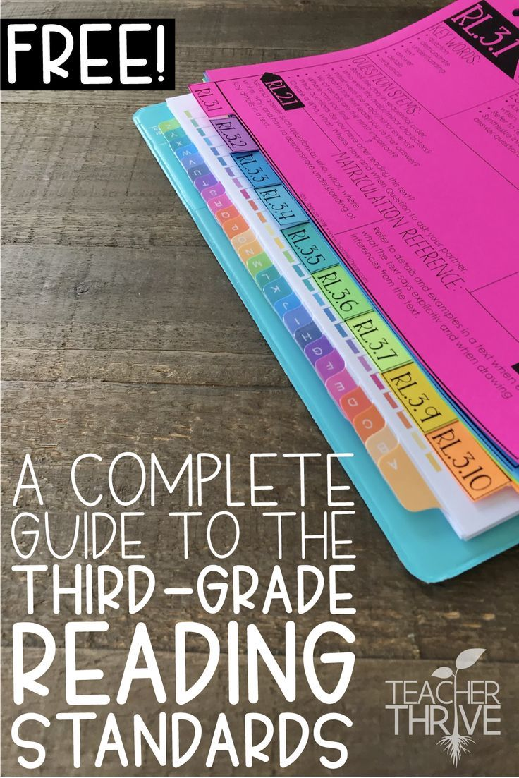 A plete Guide to the Third Grade Reading Standards • Teacher Thrive