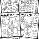 Worksheets for toddlers Alphabet Activities Of Free Short Vowel Cvc Worksheets