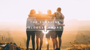 The Sunshine Blogger Award - www.mytenaciouslife.com