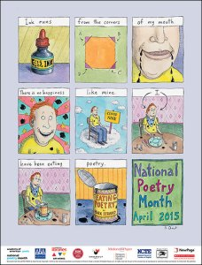 Natl Poetry Month poster