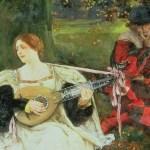 Fair is My Love by Edwin Austin Abbey 1900