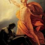 Prometheus Brings Fire by Heinrich Friedrich Füger, 1817