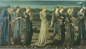 The Wedding of Psyche by Edward Burne-Jones