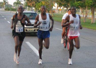 African Running Trio