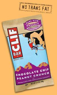 Clif Bar: Chocolate Chip Peanut Crunch