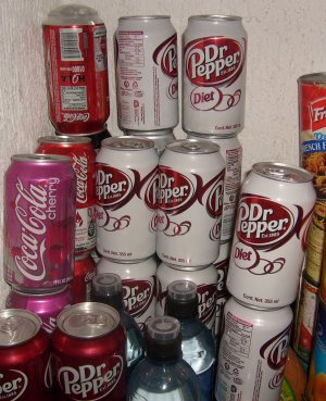 More Diet Dr Pepper