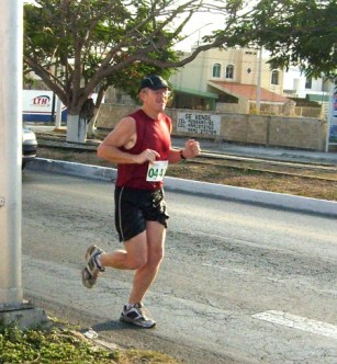 Running a 10K race