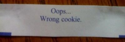 Oops... Wrong cookie.
