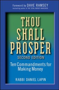 Book cover for Thou Shall Prosper