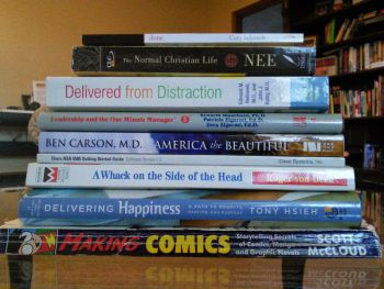 Some of the books I read in 2014