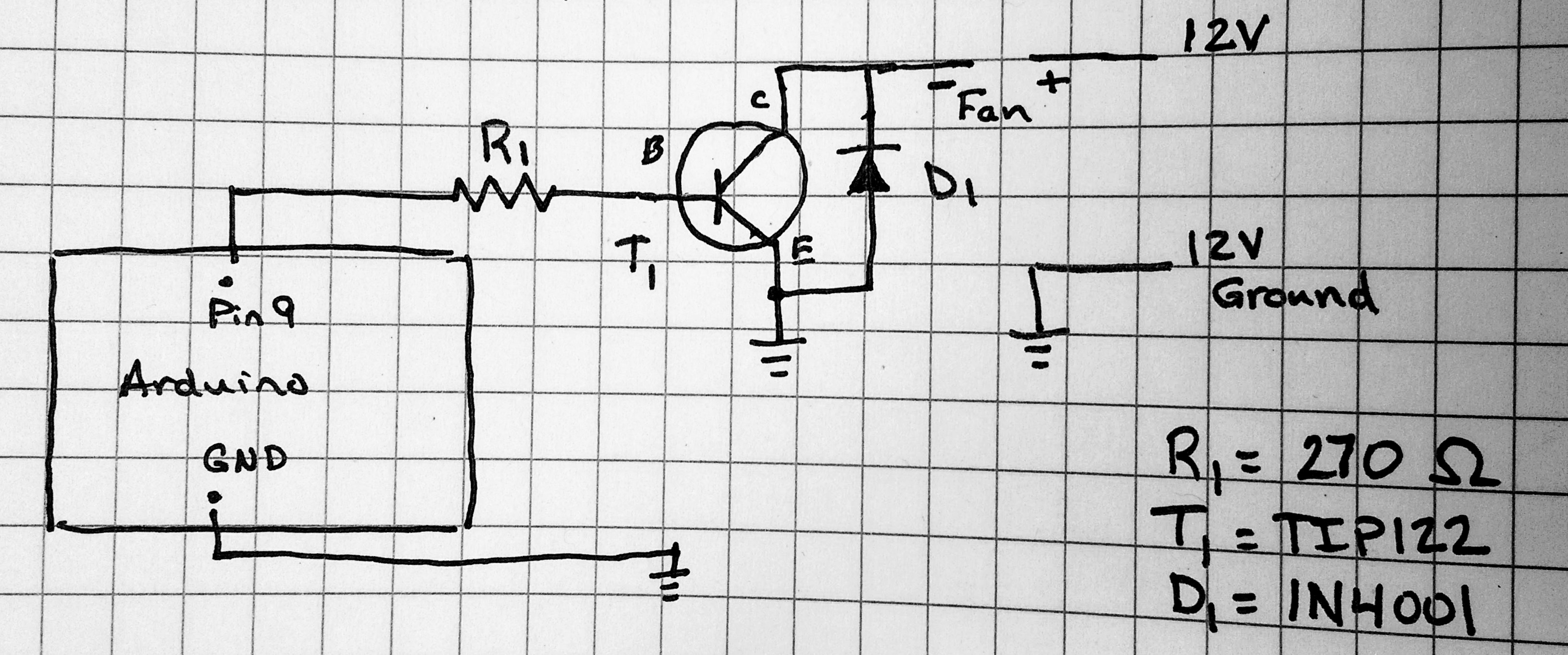 Controlling a Fan Using PWM and Arduino | My Thought Spot