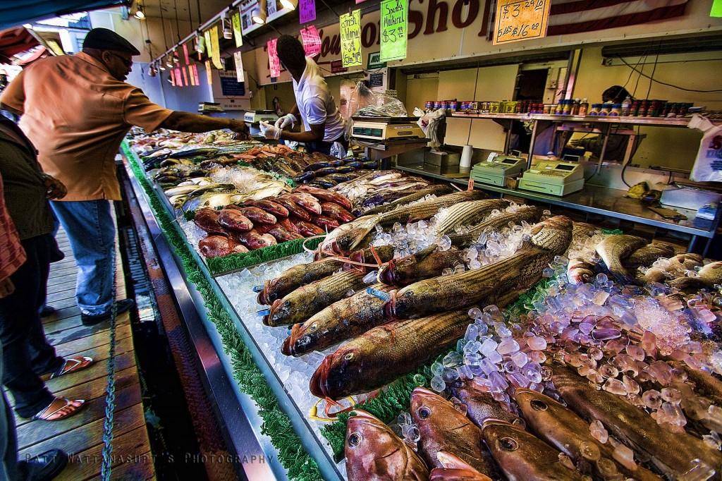 Fresh Fish San Francisco Market