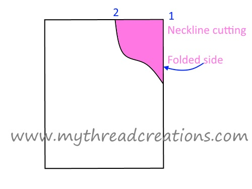 kurti neck design making