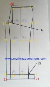 Simple Method of Straight Cut Pants Drafting