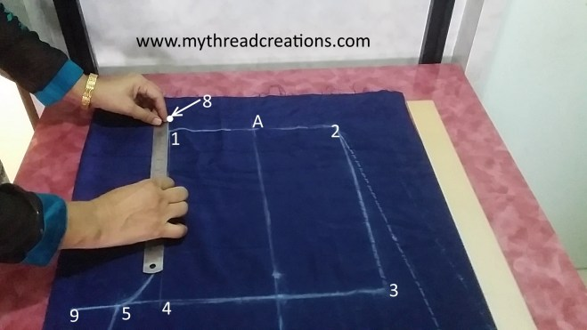 how to cut palazzo pants pattern