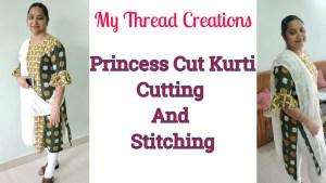 Princess Cut Kurti Designs Pattern Making