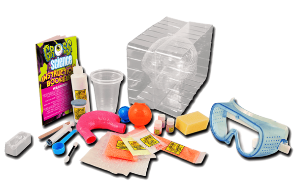 Contents of Gross Science Kit