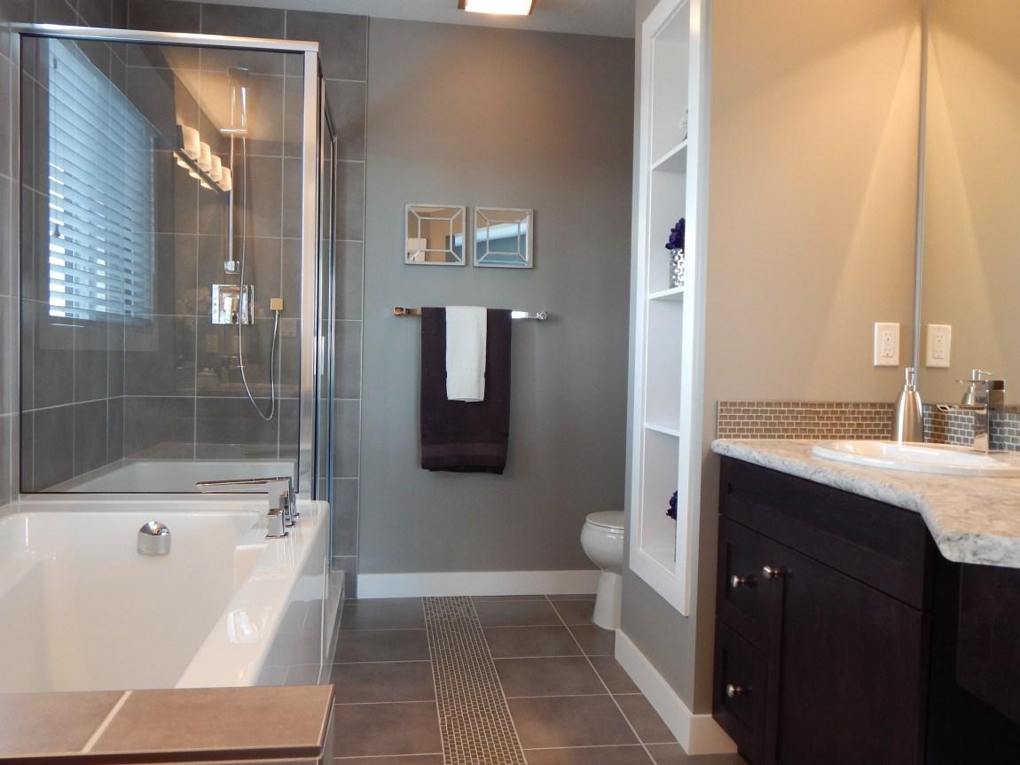a bathroom suite