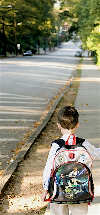 Boy Star Wars backpack