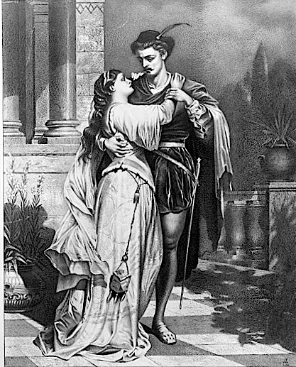 Old Romeo and Juliet poster