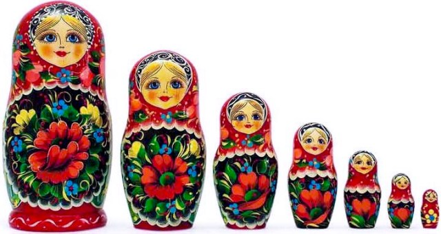 Russian Matryoska dolls