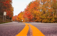 Country roads and fall colors getaway in West Virginia
