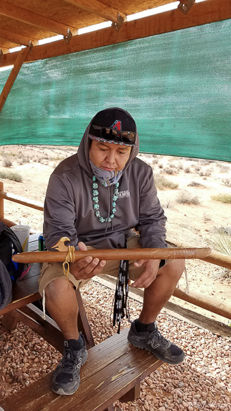 Navajo tour guide for Antelope Canyons