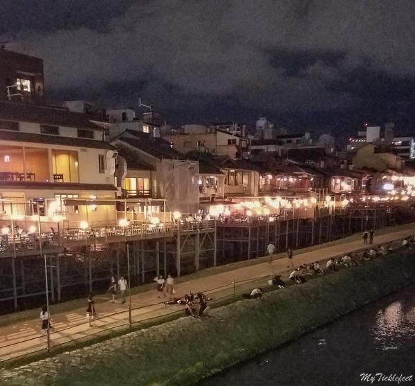 Izakayas drinking bars in Kyoto Japan