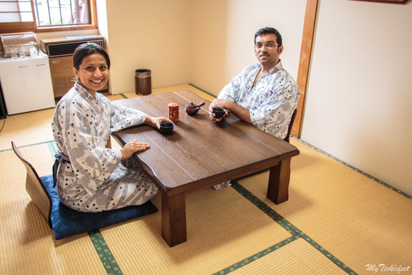Experience the local Ryokan Japanese guesthouses