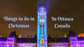 what to do in Christmas in Ottawa