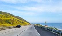 Scenic Pacific Coast highway drive from Santa Barbara to LA