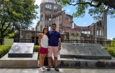 Atomic bombing site of Hiroshima, Japan