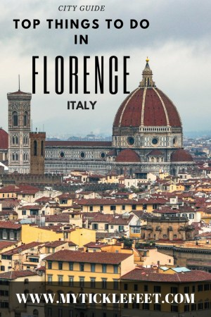 Top Things to do in Florence Italy