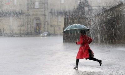 Proteção Civil alerta para previsão de chuva forte no Grupo Central dos Açores