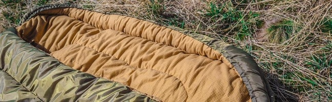 TETON Mammoth sleeping bag spread open