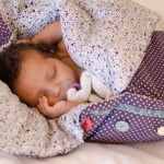 make baby sleeping bag