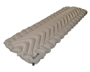 Klymit Static V Lightweight Sleeping Pad Coyote sand, camping mattress