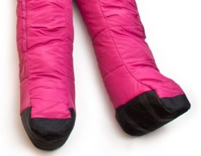 wearable sleeping bag suit