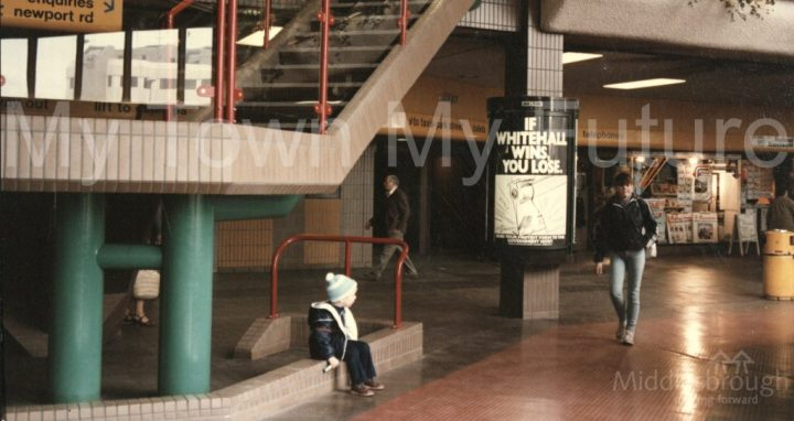 Middlesbrough bus station (1985)