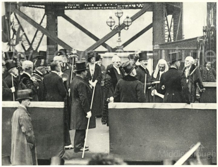 Transporter Bridge opening ceremony (1911)