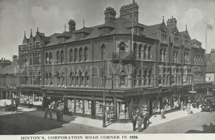 Hinton's, Corporation Road 1926